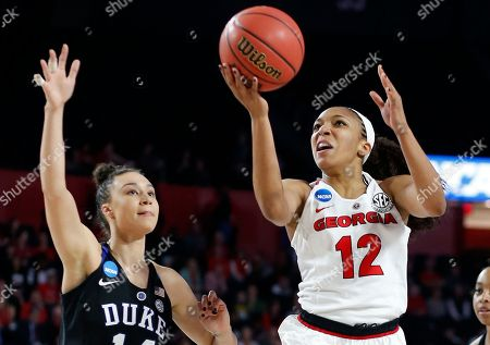 Editorial photo of NCAA Duke Georgia Basketball, Athens, USA - 19 Mar 2018