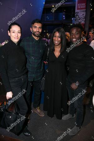 Sian Clifford, Nikesh Patel, Natalie Rose and Bayo Gbadamosi