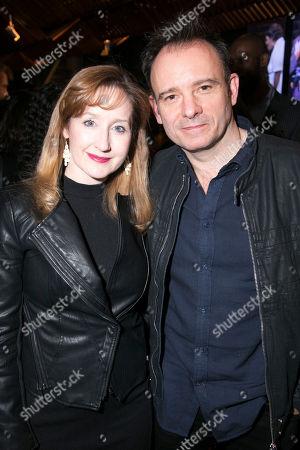 Lauren Ward (Rose Stopnick Gellman) and Matthew Warchus