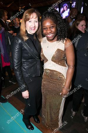 Lauren Ward (Rose Stopnick Gellman) and Me'sha Bryan (The Washing Machine)