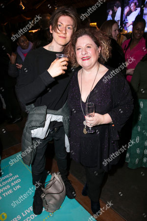 Louie Burgess and Sue Kelvin (Grandma Gellman)