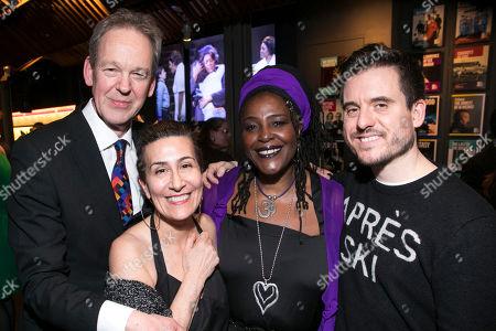 Greg Ripley-Duggan (Executive Producer), Jeanine Tesori (Music), Sharon D Clarke (Caroline Thibodeaux) and Michael Longhurst (Director)
