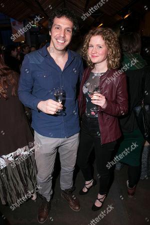 Alex Gaumond and Kelly Jackson