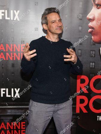 """Adam Horovitz attends the premiere of Netflix's """"Roxanne Roxanne"""" at SVA Theatre, in New York"""