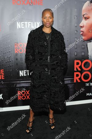 Editorial image of 'Roxanne Roxanne' film premiere, New York, USA - 19 Mar 2018