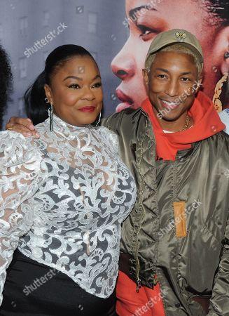 Roxanne Shante and Pharrell Williams