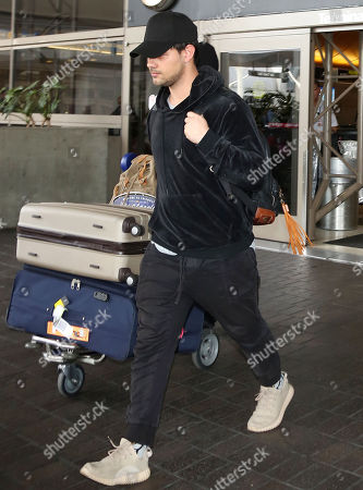 Editorial picture of Taylor Lautner at LAX International Airport, Los Angeles, USA - 19 Mar 2018
