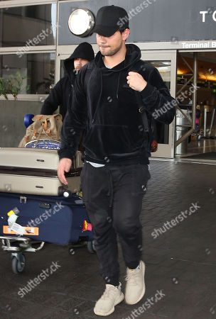Editorial image of Taylor Lautner at LAX International Airport, Los Angeles, USA - 19 Mar 2018