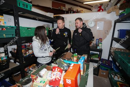 Editorial photo of EFL Day of Action, Oldham Foodbank, Oldham, UK - 20 Mar 2018