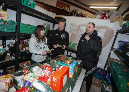 Editorial picture of EFL Day of Action, Oldham Foodbank, Oldham, UK - 20 Mar 2018