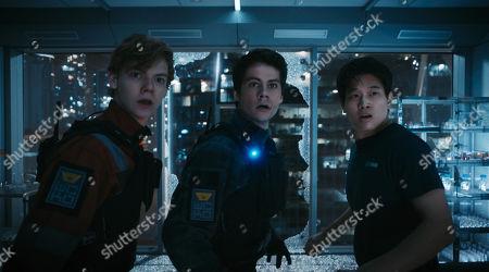 Thomas Sangster, Dylan O'Brien, Ki Hong Lee