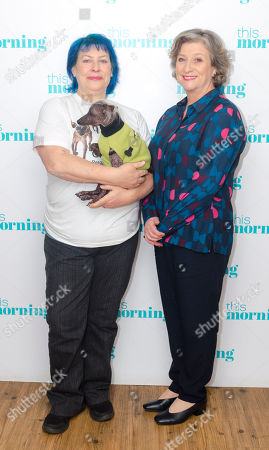 Caroline Quentin and Storm Shayler
