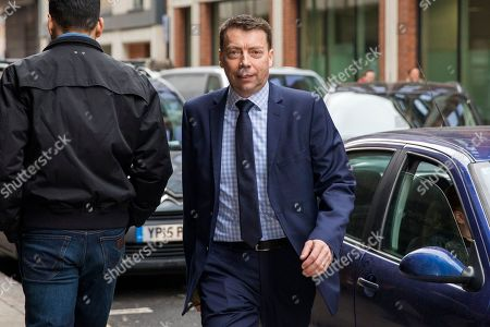 Incumbent Labour Party General Secretary Iain McNicol arrives at Labour Party headquarters in London to attend a National Executive Committee meeting, where a new general secretary of the Labour Party is expected to be appointed.