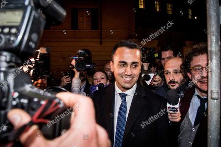 Editorial photo of Gianroberto Casaleggio Association supplementary dinner, Rome, Italy - 19 Mar 2018