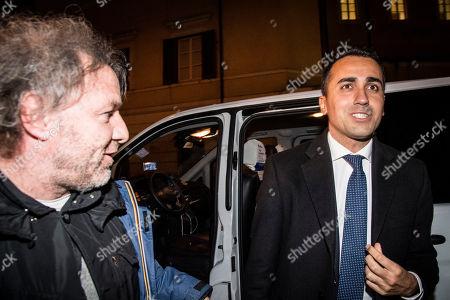 Stock Image of Luigi Di Maio leader 5 Star Movement