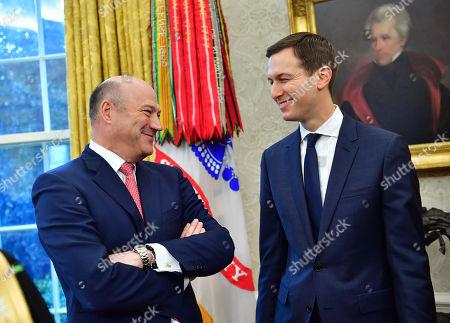 Jared Kushner and Gary Cohn
