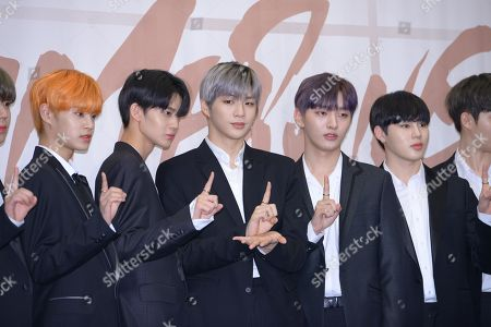 Editorial image of Wanna One '1x1=1 (To Be One) Album Launch, Seoul, South Korea - 19 Mar 2018