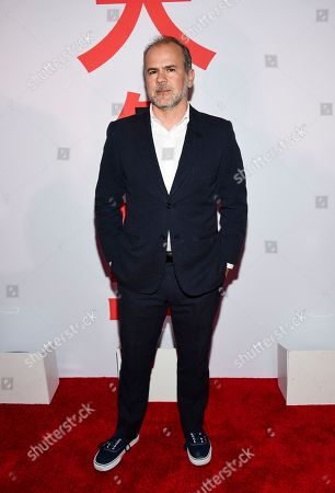 """Producer Jeremy Dawson attends a special screening of """"Isle of Dogs"""" at the Metropolitan Museum of Art, in New York"""
