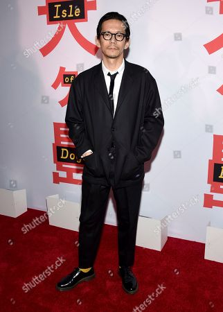 "Kunichi Nomura attends a special screening of ""Isle of Dogs"" at the Metropolitan Museum of Art, in New York"