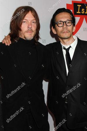 Norman Reedus and Kunichi Nomura