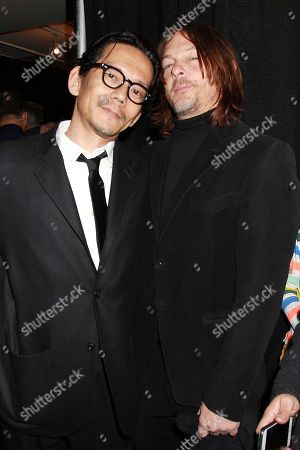 Koyu Rankin and Norman Reedus