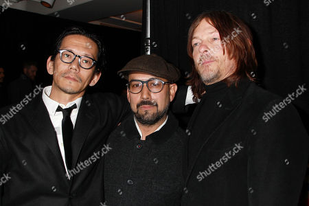 Koyu Rankin, Shadi and Norman Reedus