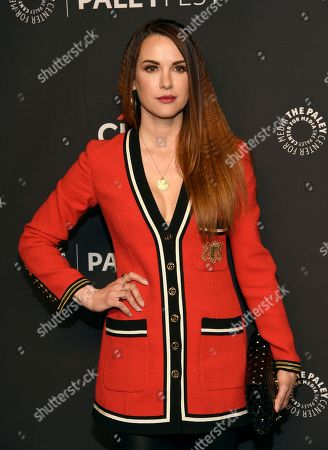 """Danneel Ackles arrives at a screening of """"Supernatural"""" during the 35th annual PaleyFest at the Dolby Theatre, in Los Angeles"""
