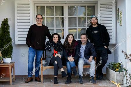 Stock Photo of Jordi Sanchez, Daniel Guzman, Alvaro Cervantes, Silvia Abril and Juana Macias