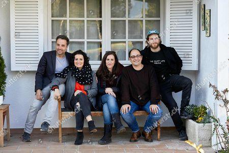 Jordi Sanchez, Daniel Guzman, Alvaro Cervantes, Silvia Abril and Juana Macias