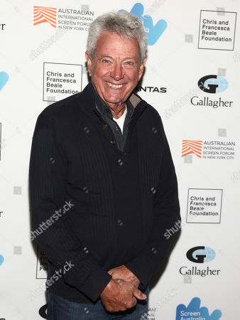"Stock Image of John Seale attends the premiere of ""Breath"" at the Elinor Bunin Munroe Film Center, in New York"