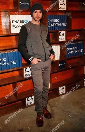 Austin Hebert poses for a photo at the LA Times Studio @ Sundance Film Festival Presented by Chase Sapphire, in Park City, Utah