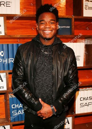 Dexter Darden poses for a photo at the LA Times Studio @ Sundance Film Festival Presented by Chase Sapphire, in Park City, Utah