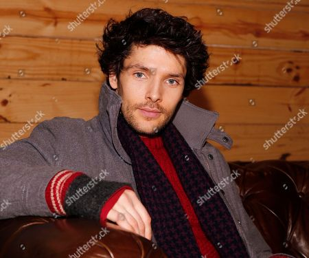 Colin Morgan poses for a photo at the LA Times Studio @ Sundance Film Festival Presented by Chase Sapphire, in Park City, Utah