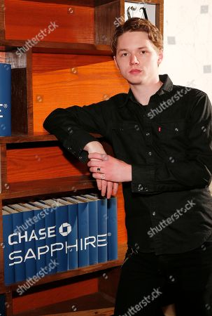 Stock Photo of Actor Jack Kilmer poses for a photo at the LA Times Studio @ Sundance Film Festival Presented by Chase Sapphire, in Park City, Utah
