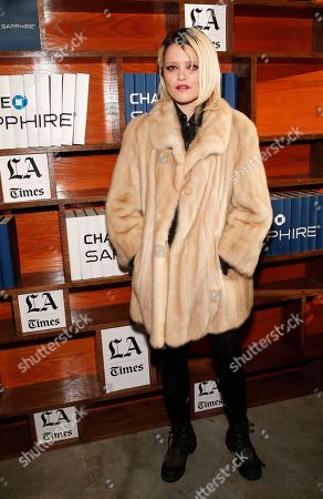 Stock Picture of Actress Sky Ferreira poses for a photo at the LA Times Studio @ Sundance Film Festival Presented by Chase Sapphire, in Park City, Utah