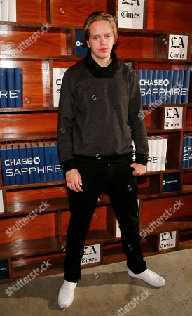 Stock Image of Actor Valter Skarsgard hangs out at the LA Times Studio @ Sundance Film Festival Presented by Chase Sapphire, in Park City, Utah