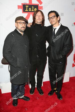 Shadi, Norman Reedus and Kunichi Nomura