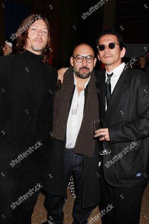Norman Reedus, Shadi and Kunichi Nomura