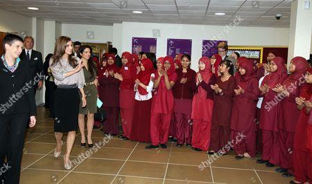 Queen Rania with Princess Badiya bint El Hassan