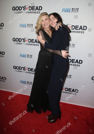 Stock Picture of Tatum O'Neal and Emily McEnroe