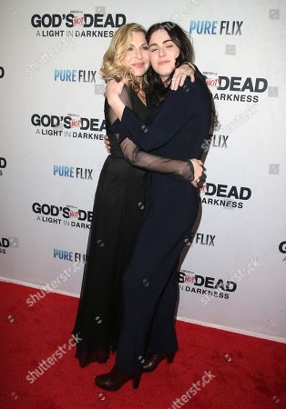 Tatum O'Neal and Emily McEnroe