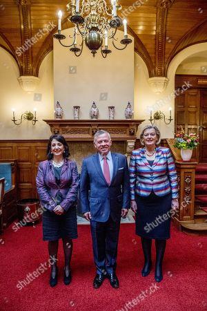 King Abdullah II, Ankie Broekers-Knol, Khadija Arib