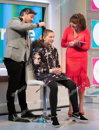 Editorial photo of 'Lorraine' TV show, London, UK - 21 Mar 2018