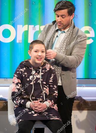 Editorial image of 'Lorraine' TV show, London, UK - 21 Mar 2018