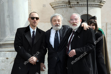 Elio Germano, Gianni Amelio, Renato Carpentieri