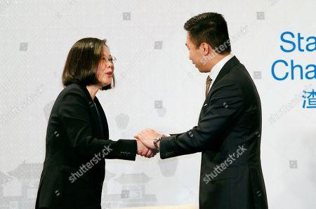Editorial image of China Trade Pact, Taipei, Taiwan - 21 Mar 2018