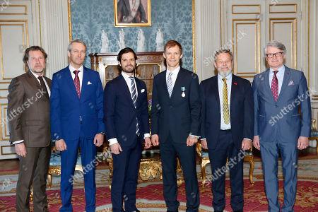Editorial image of Presentation of the Motor Prince's Medal, Royal Palace, Stockholm, Sweden - 21 Mar 2018