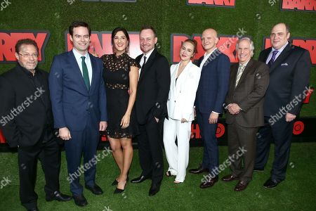 Stephen Root, Bill Hader, D'Arcy Carden, Alec Berg, Sarah Goldberg, Anthony Carrigan, Henry Winkler and Glenn Fleshler