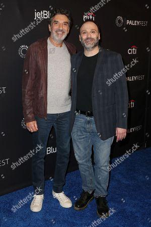 Chuck Lorre and Steven Molaro