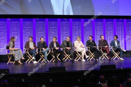 Chuck Lorre, Steven Molaro, Steve Holland, Bill Prady, Kaley Cuoco, Johnny Galecki, Jim Parson, Kunal Nayyar